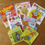 Les magazines pour bébés (1-3 ans)