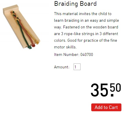 braiding-board