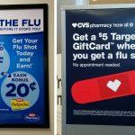 La vaccination contre la grippe aux Etats-Unis (Votre supermarché vous veut du bien #2)