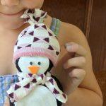 Le pingouin en chaussette (l'art est un jeu d'enfant #1)