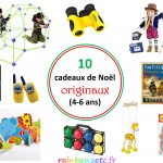 10 cadeaux de Noël originaux pour les enfants (4-6 ans)