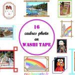 Faire une galerie photos avec du washi tape