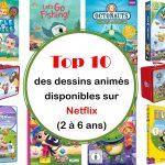Top 10 des dessins animés pour enfants disponibles sur Netflix (2 à 6 ans)
