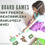 7 board games that French preschoolers absolutely LOVE!