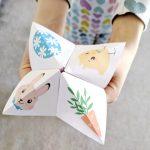 Blagues de Pâques en cocotte (en papier) {pdf gratuit à télécharger}